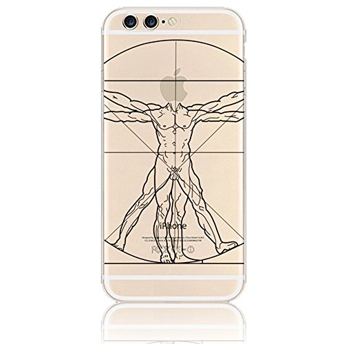 iPhone 7 Plus Funda, Sunroyal ® TPU Ultra Transparente Carcasa Funda Suave Flexible Bumper Parachoques Silicona Extremadamente Delgada [Anti-Scratch] Resistente a los Arañazos Protectora Caja del Telé Color05