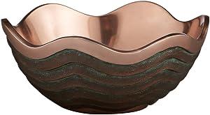 """Nambe Copper Canyon Bowl, 7""""…"""