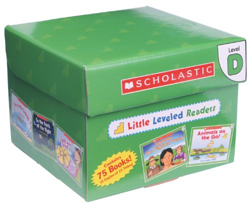 Little Leveled Readers: Level D Box Set: Just the Right Level to Help Young Readers Soar! -