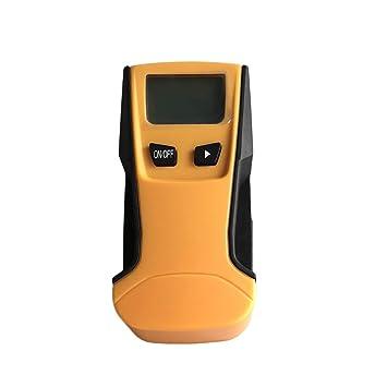 ST250 Detector de pared escáner 3-en-1 de madera Espárragos Buscador del detector de metales de retroiluminación LCD portátil de mano de CA Live Wire: ...