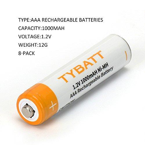 Buy aaa 1000mah rechargeable batteries