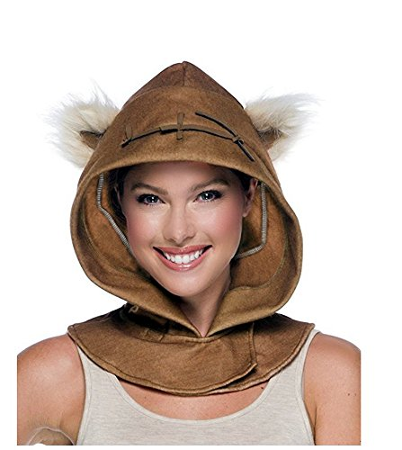 Costume Womens Ewok (33924 Adult Ewok Hood Star)