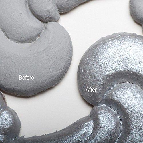Dixie Belle Paint Company (Hi Ho Silver Glaze) Use with Chalk Finish Furniture Paint (8oz)