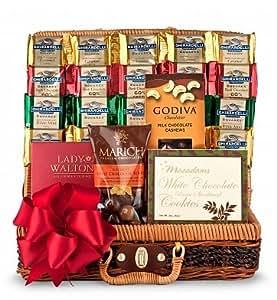 Amazon.com : Chocolate Galore Gift Basket - Unisex ...