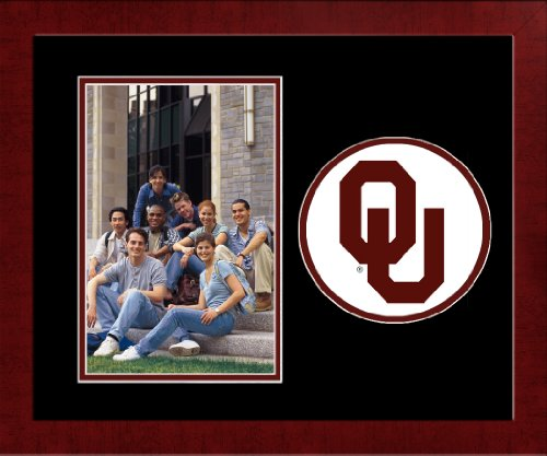 - Campus Images NCAA Oklahoma Sooners University Spirit Photo Frame (Vertical)