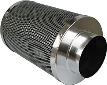 iPower's inline Air Carbon Filter - marijuana plants need good ventilation and airflow