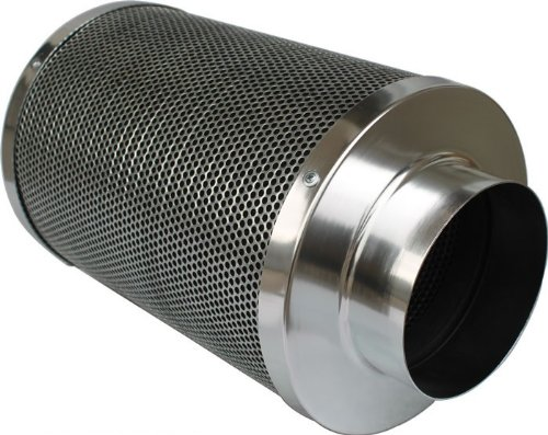 iPower 8 Inch 750 CFM Duct Inline Fan with 8 Inch Carbon Filter for Grow Tent Ventilation System