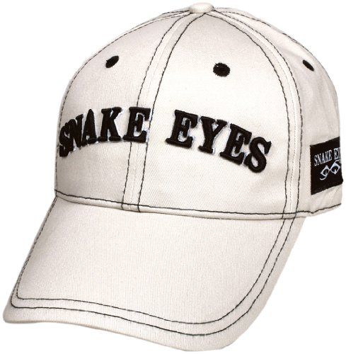 LEZAX(レザックス) SNAKE EYES ゴルフキャップ(グリーンマーカー付き) サンド SECP-0501-S