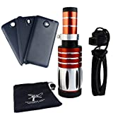 Apexel 50X Ultra Beast Magnifier Zoom Manual Focus Telephoto Telescope Phone Camera Lens Kit with High-end Tripod for Samsung Galaxy Note 2 3 4