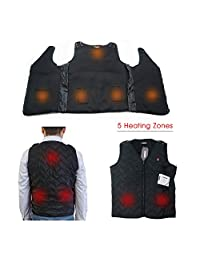 ARRIS Rechargable Heated Warm Vest Size Adjustable for outdoor use
