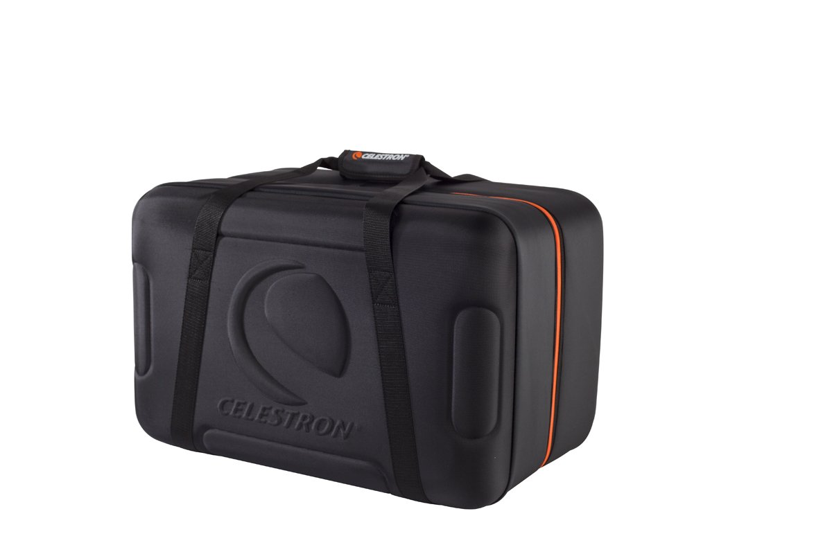 Celestron - Telescope Carrying Case for NexStar Optical Tubes - Fits 4'', 5'', 6'' and 8'' Optical Tubes - NexStar SE, Evolution, Schmidt-Cassegrain, EdgeHD Compatible - Protective EVA Shell, Foam Lining by Celestron