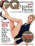 BRITISH GQ UK MAGAZINE MAY 2016 - CHARLIZE THERON - MAD MAX, MUST BUNGLED DIAMOND HIEST, THE 2016 GQ CAR AWARDS, THE 100 MUST CONNECTED MEN IN BRITAIN