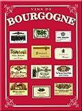 PLAQUE METAL 20X15cm VINS DE BOURGOGNE FRANCE - M138