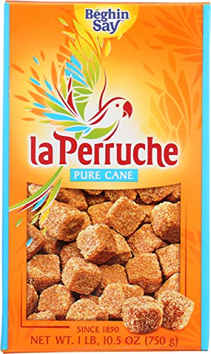 La Perruche Pure Cane Rough Cut Cubes, 1 -