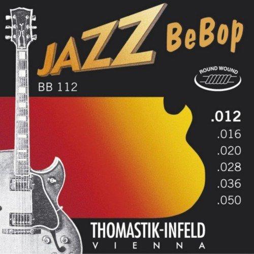 CUERDAS GUITARRA ELECTRICA - Thomastik (BB112) Jazz Bebop (Juego ...
