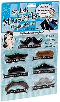 Fake Moustache Set (accesorio de disfraz): Amazon.es: Juguetes y ...