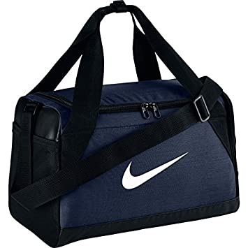 Nike Brasilia (Extra-Small) Duffel Bag Black White Size X-Small (Midnight  Navy Black White)  Amazon.in  Bags 152c0401ffa3d