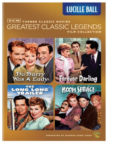 Classic Turner - TCM Greatest Classic Legends Film Collection: Lucille Ball (The Long, Long Trailer / Forever Darling / Room Service / Du Barry Was a Lady)