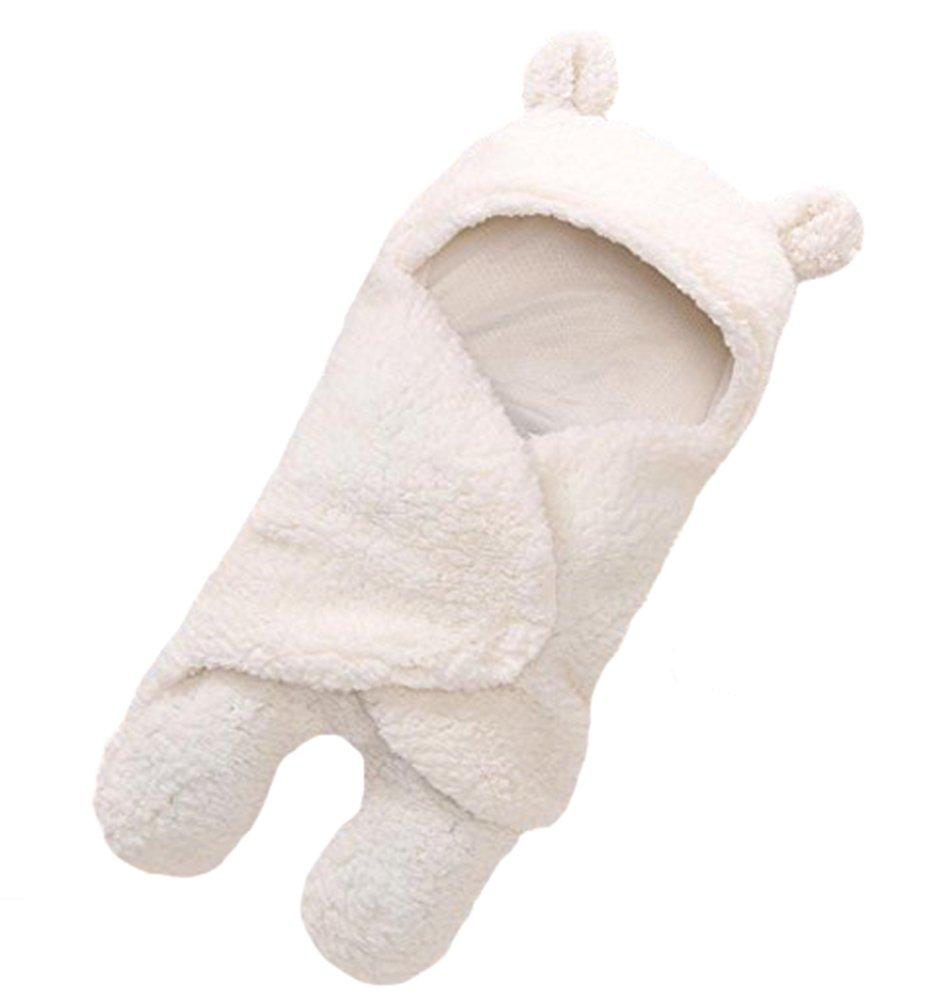 Newborn Baby Boys Girls Cute Cotton Plush Receiving Blanket Sleeping Wrap Swaddle by Pinleck (Image #7)