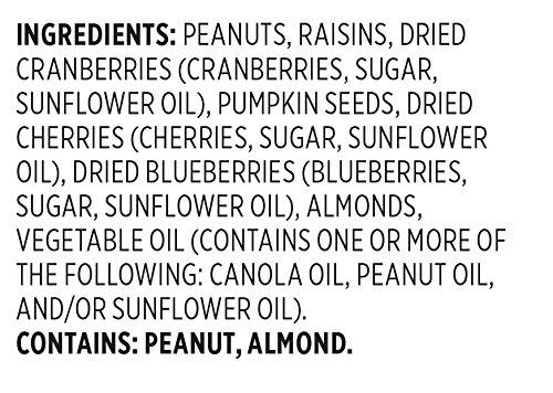 Snak Club All Natural Antioxidant Trail Mix, Non-GMO, 5.5-Ounces, 6-Pack