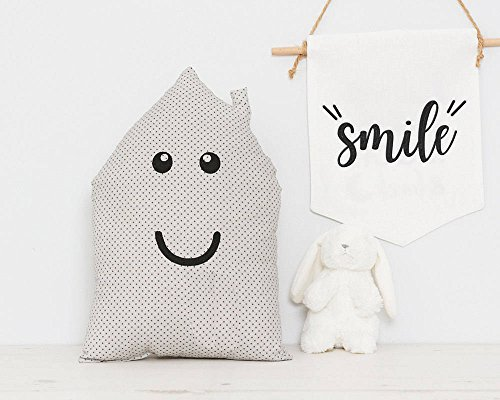 House Shaped Cushion Baby Cushions Nursery Pillow Also