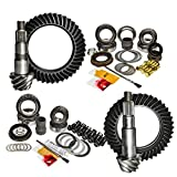 Nitro (GPJKRUBICON-4.88) Front and Rear 4.88 Ratio Gear Package Kit for Jeep Wrangler Rubicon JK