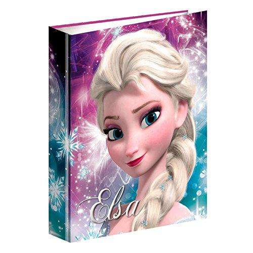 Disney La Reine des neiges–Frozen–Classeur à 4Anneaux A4(Montichelvo mc-53782) (Montichelvo 53782)