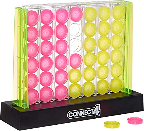 Connect 4 Neon Pop Board Game Strategy Game