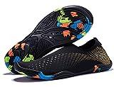 Coleath Men Women Water Shoes Quick-Dry Lightweight Barefoot Skin Swim Shoes Aqua Water Socks