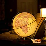 Best Illuminated Globes - Illuminated World Globe for Kids With Wooden Stand,Built Review