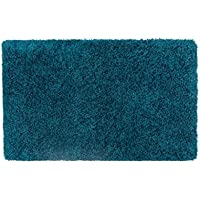 Vista Living Claudia Shag Area Rug 27 in. x 45 in, Teal