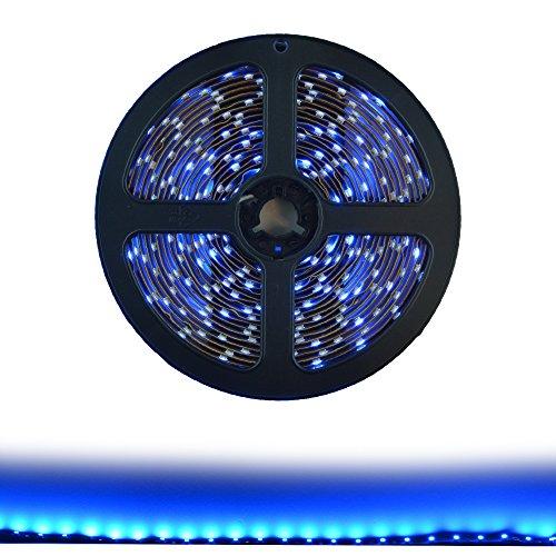 Hitlights Blue Flexible Ribbon Led Strip Light 300 Leds