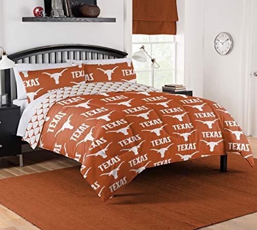 (Northwest NCAA Texas Longhorns Queen Bed in Bag Set #809662482)