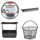 LITTLE GIANT CHICKEN COOP FARM KIT : 1 Pint Waterer - 30 Hole Feeder - Egg Basket - Nesting Box