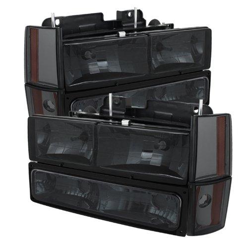 01 gmc sierra crystal headlights - 8