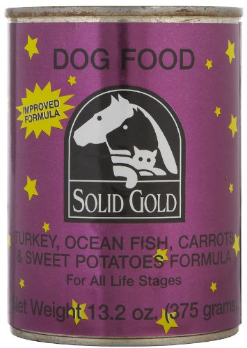 """Solid Gold Dog Turkey/Oceanfish, 12/13.2 Oz Cans by Solid Gold Health Products"""