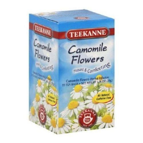 Teekanne Chamomile Herbal Tea - 20 per pack -- 10 packs per case.