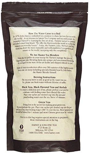 Harney & Sons Earl Grey Supreme Tea - Lemony Flavors,, Presents and Party Favors - Bag of 50 Sachets