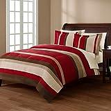 Mainstays Boulder Stripe Comforter Mini Set