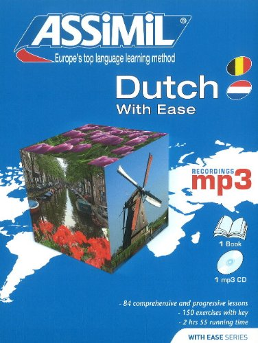 Assimil Dutch With Ease Pack (Book plus CD - Ease Mp3