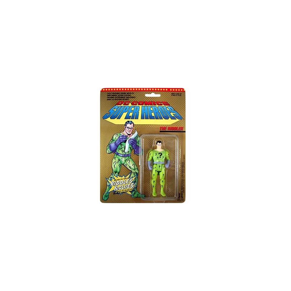DC Comics Super Heroes  Riddler Action Figure Toys