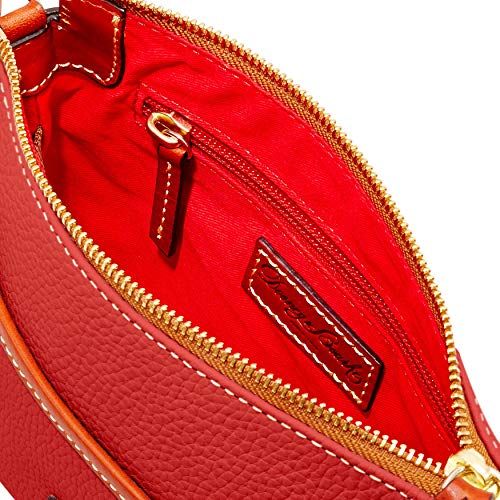 Ginger Bourke Pouchette Bag Pebble Shoulder Grain amp; Dooney Terracotta qIgw5FB