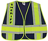 First Class Reflective Duty Vest-Sheriff ID/Large/XL