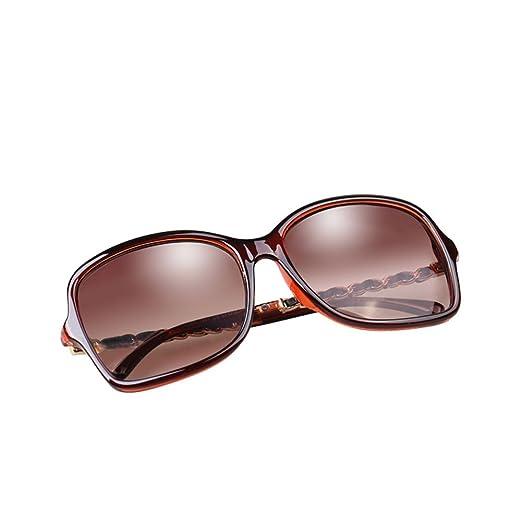 H.ZHOU Gafas de Sol Redondas Gafas de Sol Elegantes Lady ...