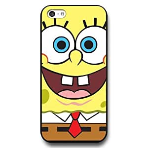 MMZ DIY PHONE CASEUniqueBox Customized Black Hard Plastic iphone 6 4.7 inch Case, SpongeBob SquarePants Patrick Star iphone 6 4.7 inch case