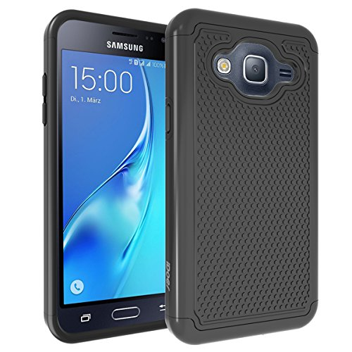 Price comparison product image COMMUTER SERIES Case for Galaxy J3 Case Galaxy J3V Case J3V6 iDoer Black
