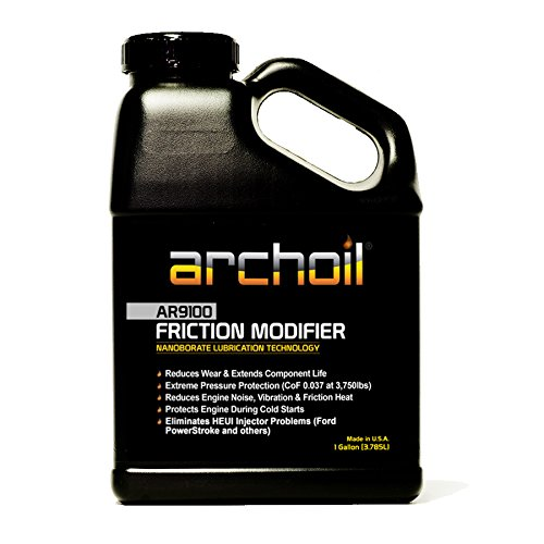 AR9100 (1 Gallon) Friction Modifier - Treats up to 128 quarts of engine oil by Archoil