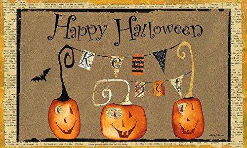 Lang 3210040 Cheeky Halloween Door Mat by Debbie Taylor Kerman, 30 x 18 ()