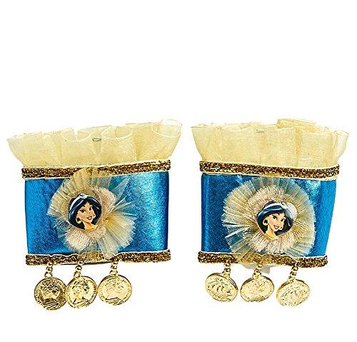 Disney Girls Princess Jasmine Costume Wristlet Cuffs (Jasmine Costume Kids)