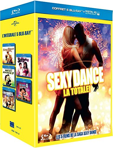 Step Up (5 Film Collection) - 5-Disc Box Set ( Step Up / Step Up 2 - The Streets / Step Up 3 / Step Up 4 - Miami Heat / Step Up 5 - All In ) ( Let's Dance / Sexy [ Blu-Ray, Reg.A/B/C Import - France ]